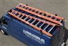 Cross Tread Flat Top 850 Van Rack