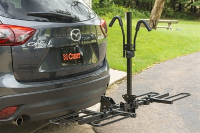 CURT Tray-Style Hitch-Mounted Bike Rack #18084