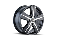 ION Wheels Style 101 Gloss Black/Machined Face Transit Wheel