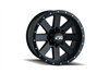 ION Wheels Style 134 Matte Black/Black Beadlock