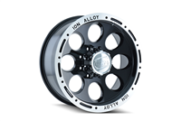 ION Wheels Style 174 Black/Machined Beadlock