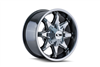 ION Wheels Style 181 Black/Milled Spokes