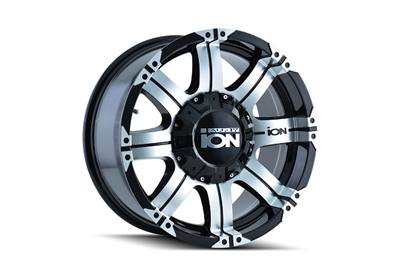 ION Wheels Style 187 Black/Machined Faced