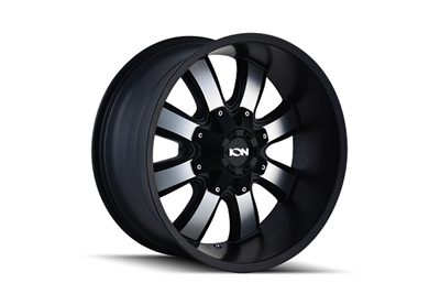 ION Wheels Style 189 Satin Black/Machined Face