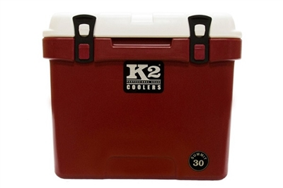 K2 Coolers Summit 30 - Crimson & White