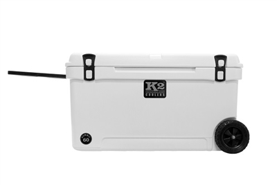 K2 Coolers Summit Wheeled 60 - Glacier White