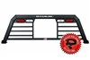 Magnum High Pro Truck Rack With Window Cut Out And Lights
