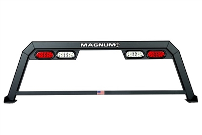 Magnum Low Pro Hollow Point Truck Rack With Lights