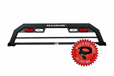 Magnum Service Body Truck Rack With Lights
