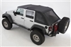 Smittybilt Jeep Bowless Combo Top