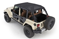 Smittybilt Jeep Mesh Extended Tops