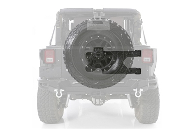 Smittybilt Pivot Heavy Duty Oversize Tire Carrier