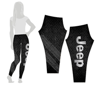 Jeep Leggings  Diamond Plate