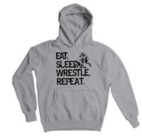 Eatl Sleep Wrestle Repeat Adult