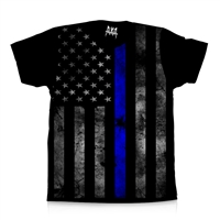 BLUE LIVES MATTER (Made in the USA) Dye Sub Shirts