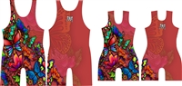 Tattoo (butterfly) Singlet