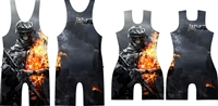 Undead Warrior Singlet
