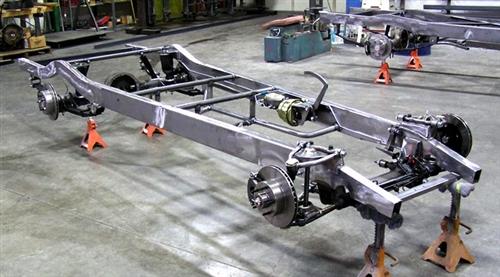 lincoln floor jack parts diagram 1937 1938 chevy 1 2 ton truck chassis  1937 1938 chevy 1 2 ton truck chassis