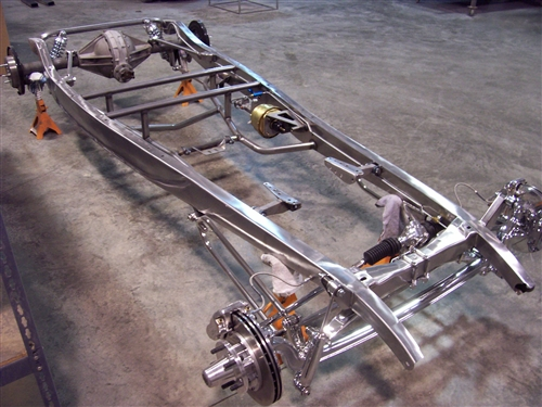 1932 Ford frame boxing plates