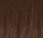 Hair Extension Sample Number 6 Chestnut Brown