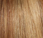 Hair Extension Sample Medium Ash Brown-Pale Golden Blond MIX