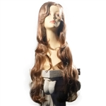 "24"" Wavy Synthetic Hair Wig #2111"
