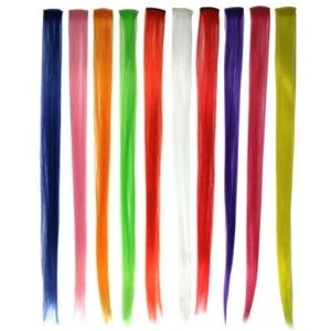 Fun Color Clip In Hair Extensions 6