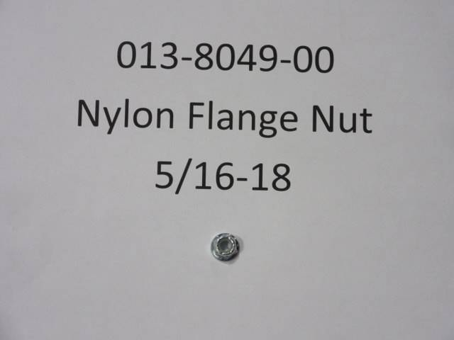 Bad Boy Mower Part - 013-8049-00 - 5/16-18 Nylon Flange Nut