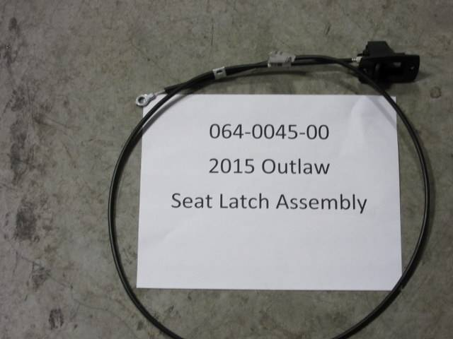 Bad Boy Mower Part - 2015 Outlaw Seat Latch Assy