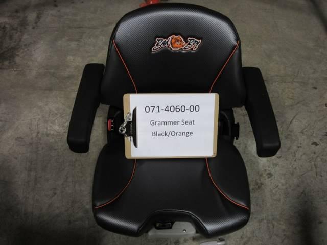 Bad Boy Mower Part Black Orange Grammer Seat Upgrade Cut