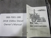Bad Boy Mower Part - 088-7001-18B - 2018  1500cc Diesel Owner's Manual