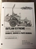 Bad Boy Mower Part 2017 Outlaw & Outlaw Extreme Owner's Manual