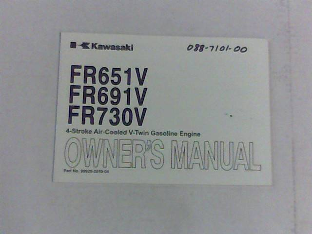 Bad Boy Mower Part KAWASAKI-FR Series Motor Manual