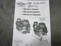 Bad Boy Mower Part - 088-7114-00 - 2015 Vanguard 810cc Motor Manual
