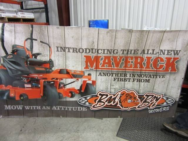 Bad Boy Mower Part - 088-8040-00 - 2016 3x6 Mower Banner (Maverick)