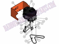 Bad Boy Mower Part 2010 MZ 26HP BRIGGS ENGINE