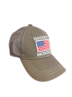 Bad Boy Mower Part - 401-0030-01 - American Flag Hat Grey
