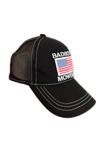 Bad Boy Mower Part - 401-0040-01 - American Flag Hat Black