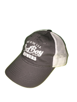 Bad Boy Mower Part - 401-0050-01 - Charcoal/Khaki Mesh Hat