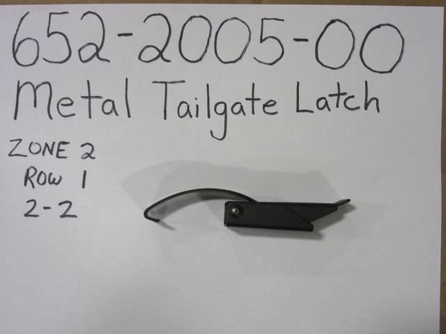 Bad Boy Mower Part - 652-2005-00 - Metal Tailgate Latch