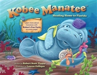 Kobee Manatee Heading Home to Florida Book www.Little-Minnows.com