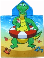 Kids Alligator Towel