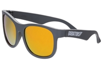 Ace Sunglasses for Kids and Teens in Black Ops Black With Blue Lenses  www.Little-Minnows.com  Beach Baby Blue Babiators