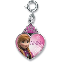 Charm Anna Crown Heart