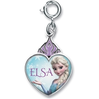 Charm Elsa Crown Heart