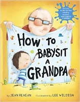 How To Babysit Grandpa Book www.Little-Minnows.com
