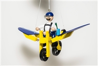 Flying Bike Whimsical Bouncer Available at Little-Minnows.com