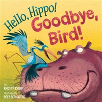 Hello Hippo! Good Bye Bird Book www.Little-Minnows.com