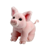 Pink Pig Plush Available at Little-Minnows.com