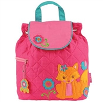 Fox Quilted Backpack available at Little-Minnows.com